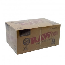 Rolling Papers Cone Raw king  Natural Unrefined 32cones