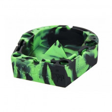 Ooze Banger Ash Tray Silicone Mix Color
