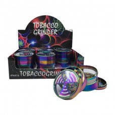 Grinder Aluminum 4pc 63mm Rainbow color top