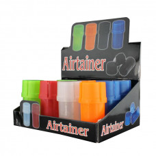 "Grinder 1"" 3pc Air Tight plastic Asst. Colors"