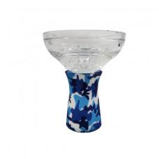 Clear camo hookah bowl DH14