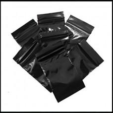Black Zip Bag Various Sizes