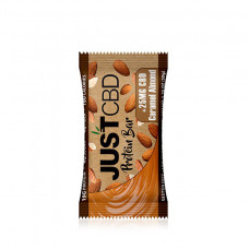 Just CBD 25mg Caramel Almondprotein bar each bar (12 per box)