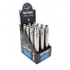 Smooth Battery 1100mah silver display (per box)