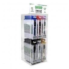 Ooze Slim Pen Twist Battery Display of 48pc