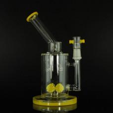 """Water Pipe GOG 10.5"""" Killa BeeSignature w/ RecycleParc Yello"""