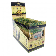Rolling Papers King Plam Rollies 5pk w/Boveda 15ct