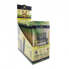 Rolling Papers King Plam Slim Size 5pk w/Boveda 15ct