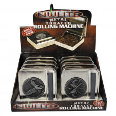Cigarette Rolling Machine Nulite Metal W/Sticker