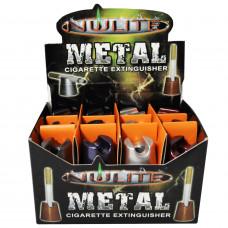 Cigarette Snuffers Metal Cone Nulitte