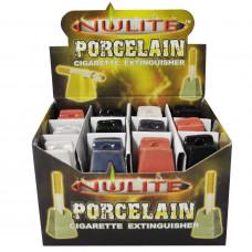 Cigarette Snuffers Porcelain Pyramid Nulitte