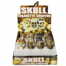 Cigarette Snuffers Skull