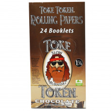 Rolling Papers Toke Token Chocolate Flavor 1 1/4