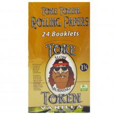 Rolling Papers Toke Token Vanilla Flavor 1 1/4