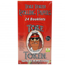 Rolling Papers Toke Token Watermelon Flavor 1 1/4
