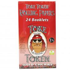 Rolling Paper Toke Token  Cherry.