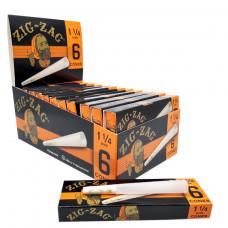 Zig zag Cone 1 1/4 6pack 24/box