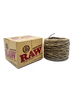 Raw Hempwick Ball 100ft
