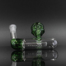 Ash Catcher Inline Percolator 14mm Skull Design