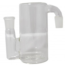 "Ash Catcher Inline Glass on Glass Cylinder 6"""
