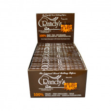 Cigarette Rolling Randy's Roots Papers 77mm  25/Box