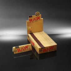 Rolling Papers Raw Classic  Natural Unrefined 1 1/4 24/pk