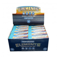 Tips Elements Rollup Tips Perforated 50ct