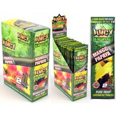 "Rolling Papers Juicy Hemp Wraps ""Mango Papaya"""