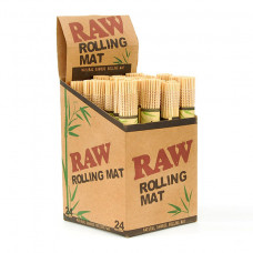 Raw Bamboo Rolling Mat 24ct