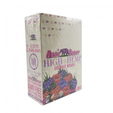 Rolling Papers High Hemp Organic Wraps Berry