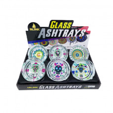 BLINK GLASS ASHTRAY-TIE DYE EDITION By BOX