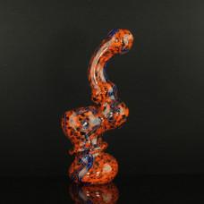 """Bubbler Glass 5"""" Mix Color w/Art"""