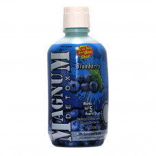 Magnum Detox 32oz Bottle In Blueberry Flavor