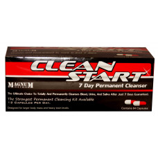 Magnum Detox Clean Start 7 Day Permanent Cleaner 84 Caps.