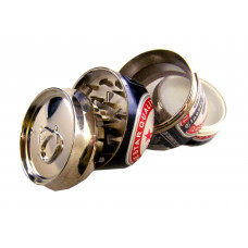 Grinder 4pc Beer With Screen In 3 Assorted Styles