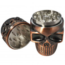 Grinder 2 pc Skull In Assorted Metal Colors