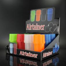 "Grinder 1"" 3pc Air Tight plastic Asst. Colors"