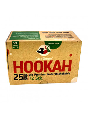 Hookah Charcoal Coco Green 15kg