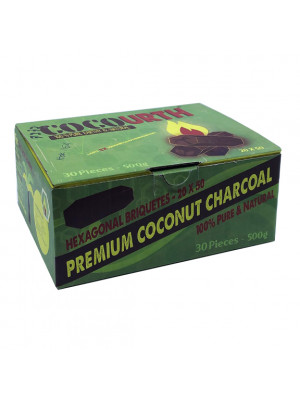 Hookah Charcoal Coco URTH 500g. 30pc