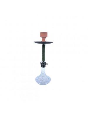 Hookah 24'' Click Tech, Color Box, Crystal Glass Vase