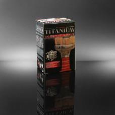 "Hookah Titanium Charcoal Coconut Flv. ""Large Cube""72pc/box"