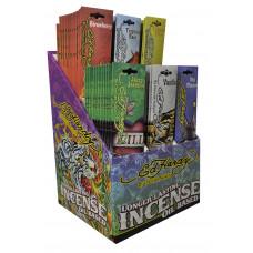 "Ed Hardy 10"" Incense Display 72ct/20stks."