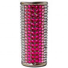 Lighter Case Large Bic Diamonds Pink Mix