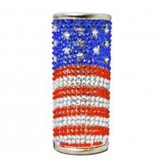 Lighter Case Large Bic Diamonds US Flag
