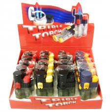Lighter Electronic Refillable TripleTorch