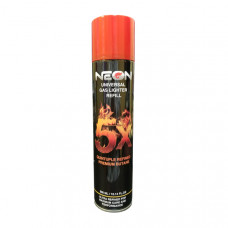 Lighter Neon 5X Butane Gas 300 ml