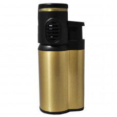 Lighter Butane Refillable w/Double Flame Asst. Color
