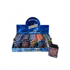 Lighter Special Blue Classic Tie-dye Color Mini Butane