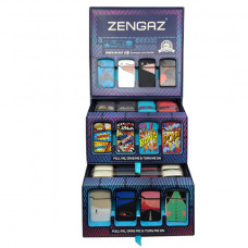 Lighter Zengas Mini Torch Display of 48ct