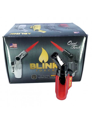 BLINK QUAD TORCH - 12 COUNT DISPLAY